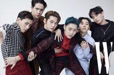 W Korea, Kwon Hyunbin, Kpop, Monsta X, My Boys, Boy Groups, Fans, Photoshoot, Poses