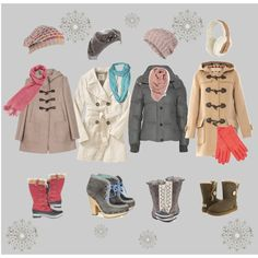 """""""Light spring ready for winter"""" by jenmariecolor on Polyvore"""