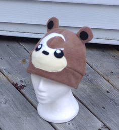 Pokemon Teddiursa Fleece Hat by RainbowChickenDance on Etsy, $20.00