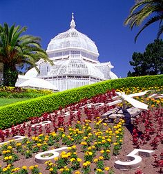 Conservatory of Flowers in Golden Gate Park.