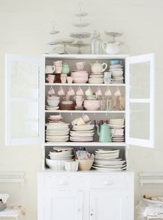 Mix-and-match servingware to display and decorate.