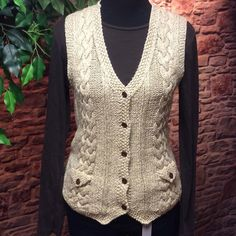 HPRALPH LAUREN HAND KNIT SWEATER VEST Beautiful sweater vest in perfect condition. See pic of tag for fabric content. Ralph Lauren Sweaters
