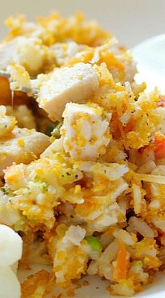 Creamy Chicken & Rice Casserole