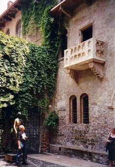 Juliet's wall in Verona; I would like to visit soon. There's a story behind every story...look it up!