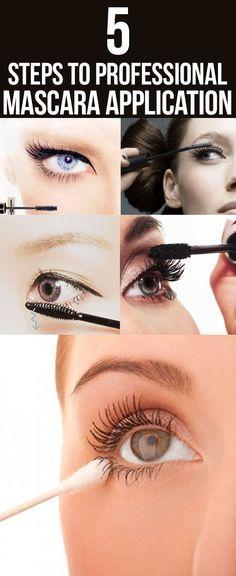 Apply mascara like a pro