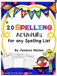 This package includes 20 different games, activities, worksheets, and task cards to help your students practice their spelling words in a variety of different ways. There is something here that will meet the learning needs and multiple intelligences of every student in your classroom.Table of Contents: 1.