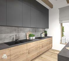 Kitchen Room Design, Home Decor Kitchen, Interior Design Kitchen, Home Kitchens, Contemporary Kitchen Cabinets, Contemporary Kitchen Design, Kitchen Layout Plans, Small Modern Kitchens, Cuisines Design