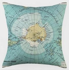 map cushion by selena
