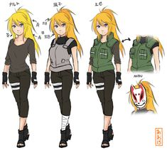 Billedresultat for naruto female