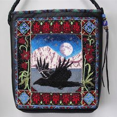 bead embroidery bag