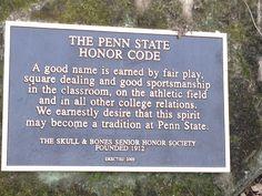 Penn State honor code
