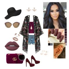 """""""Untitled #32"""" by mcgoverncaitlinl on Polyvore featuring WithChic, rag & bone, ALDO, Gucci, Marchesa, Chan Luu, Kendra Scott, Lime Crime and Yves Salomon"""