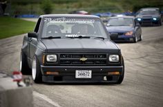 88' #Chevy #S10 #MiniTruck #Modified #Lowered #Slammed #Stance #WideBody http://budgetmotorsports.com/shop/