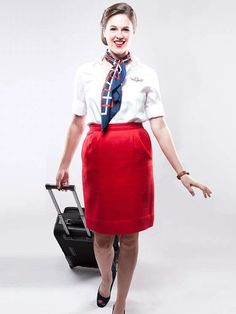 Cute DIY Flight Attendant costume for adult. You'll love these modest Halloween costumes for women, modest Halloween costumes for teens, and easy modest Halloween costumes that you can wear for work and college. Mom Costumes, Diy Halloween Costumes For Women, Theme Halloween, Homemade Costumes, Homemade Halloween, Adult Costumes, Costume Ideas, Halloween Ideas, Happy Halloween