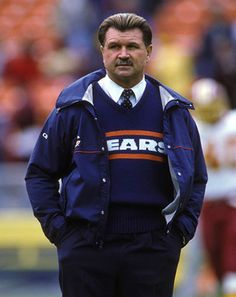 When trying to lead a platoon of purpose-built, athletes to gridiron glory, it's important to look the part. With the NFL season in full swing, we decided to take a look at the best- and worst-dressed coaches in pro football, past and present Bears Football, Football Players, Football Cards, Football Stuff, Nfl Coaches, Mike Ditka, Walter Payton, Football Quotes, Sports Figures