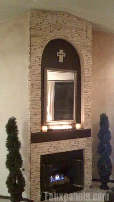 Fireplaces Portfolio: Faux Panels® Photos and Design Ideas