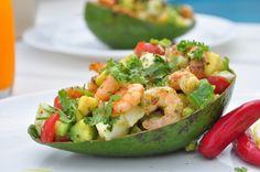 Uma pitanga na cozinha: Abacate & Camarão