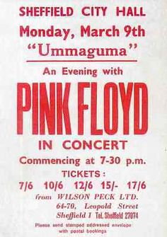 pink floyd sheffield city hall ticket - Google Search                                                                                                                                                                                 More