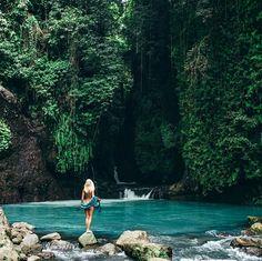 Rung Rang river Indonesia