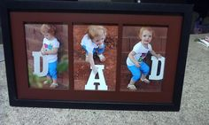 Awesome Father's Day gift I made for Eric. Thought I'd share..... #dad #photo #gift
