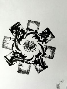 Red Hot Chili Peppers, Blood Sugar Sex Magik Sketch Pen and Ink  -Sidney Tomko-