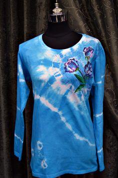 Modern Turquoise Tie Dye Design | FaveCrafts.com
