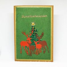 Christen, Cover, Books, Stag And Doe, Kraft Paper, Xmas Cards, Tree Structure, Weihnachten, Libros