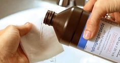 Hydrogen peroxide is a germicidal agent made up of water and oxygen, which makes it the safest natural sanitizer...