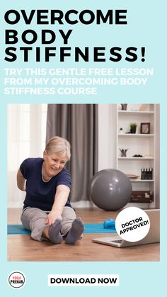 Download your free lesson in toe mobility which is linked to causing your knee, neck and back pain. This Course Will Result In Better Mobility, More Flexibility, And Obliterate Stiffness In Less Time Than It Takes To Drink Your Morning Coffee! THIS COURSE IS GREAT FOR THOSE WANTING TO RECLAIM BETTER MOBILITY AND HEALTHY MOVEMENT. Health And Wellness Coach, Health Goals, Health Fitness, Stretches For Flexibility, Flexibility Workout, Morning Yoga, Morning Coffee, Basic Yoga Poses, Neck And Back Pain