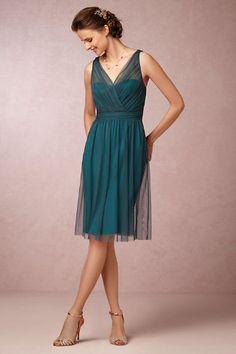Such a pretty color for fall bridesmaids