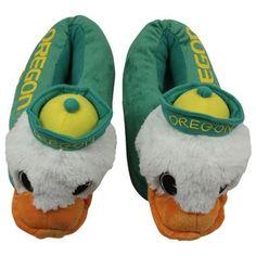 Oregon Ducks Mascot Plush Slippers