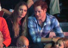 Public event: Cressida Bonas accompanied Prince Harry to the WE Day UK youth event at Wembley Arena in London earlier this month