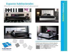 Muebles para hoteles - Espacios de habitación