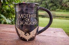 Game of Thrones handmade mug, Mother of Dragons, Handmade Coffee Mug,  – TurtleRok