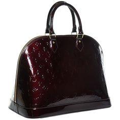 c9cdeeaff8a5 Pre-owned Louis Vuitton Vernis Alma () Gm Amarante Tote Bag (676.230 HUF
