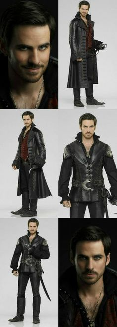 "ABC's ""Once Upon a Time"" stars Colin O'Donoghue as Hook"