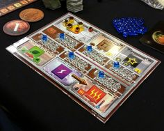 Terraforming Mars acrylic player mat overlay for board game by Fryxgames Cast Acrylic, Game Logo, Mars, Overlays, Board Games, Cube, Gaming, The Incredibles, Nerd Stuff