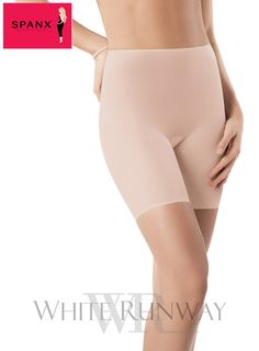 Skinny Britches® Short Spanx. The Short Spanx offers sheer shaping power that keeps you smooth under skirts and dresses. Spanx is the best and the most world renowned shape wear you can get. It's worn on red carpets worldwide and worn by alot of celebrities. Available in Black & Nude. / Super lightweight / Powerful Compression /