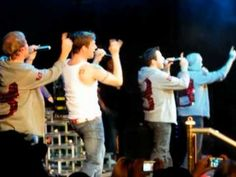 Boys performing This Is Us on the last night of BSB Cruise 2010. Nick just goes for it in the end -- it's amazing!!!