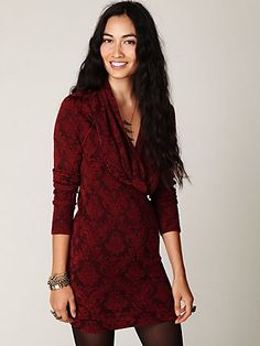 anything-- seriously, ANYTHING-- with a cowlneck (Cowl Neck Textured Ginger Tunic, Free People)