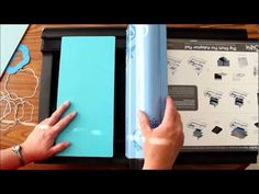 Video on how to use Genius Ultimate Platform with the Sizzix Big Shot PRO. Maybe someday I will own one.
