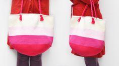 Strandtas of shopper haken - Bekijk het gratis patroon op Wolplein.nl