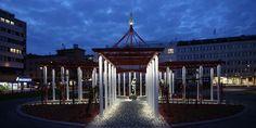 Taiteilija Jan-Erik Andersonin suunnitelma on toiminut pohjana, kun Alatorista on tehty kohtaamispaikka kaikenikäisille kaupunkilaisille. Puiston keskellä on suuri, mutta samalla läpinäkyvä geometrinen pergolaveistos, joka on valaistettuna pimeinä aikoina. Alatorilla on myös lasten leikkipaikka sekä liikuntavälineitä aikuisille. Uudistunut Alatori avattiin syyskuussa 2015.