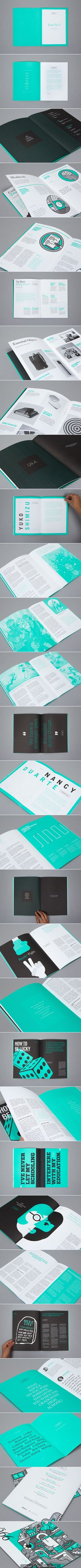 ///// 99U Quarterly Magazine Issue No3 #print #design #editorial #layout #magazine #cover