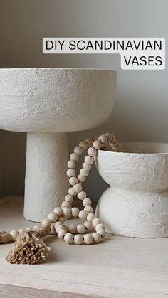 Fall Home Decor, Diy Home Decor, Scandinavian Vases, Elle Decor Magazine, Diy Centerpieces, Diy Home Crafts, Minimalist Home, Diy Art, Boho Decor
