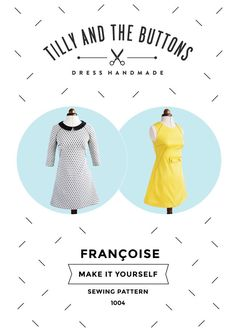 FRANCOISE sewing pattern – Tilly and the Buttons