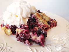 This is my absolute favorite cobbler recipe!