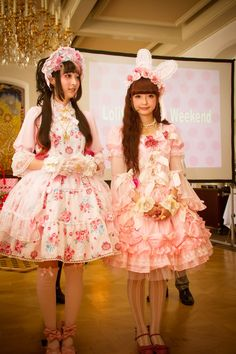 """portal-of-fantasy: """" Misako Aoki in Blooming Fairy Doll and RinRin in Eternal Rose Bouquet [Source] """""""