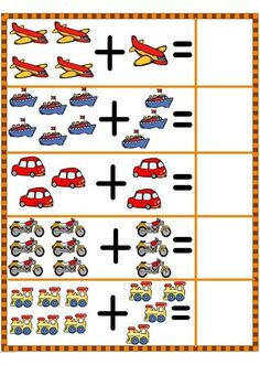 Spring Math Centers for Kindergarten Math Addition Worksheets, Kindergarten Math Worksheets, Preschool Activities, Numbers Preschool, Preschool Printables, Preschool Learning, Math For Kids, Fun Math, Alphabet