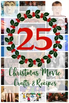 We've got so many fun crafts and delicious recipes, including my Chocolate Chip Cookies Filled with Chocolate Ganache #25ChristmasMovies